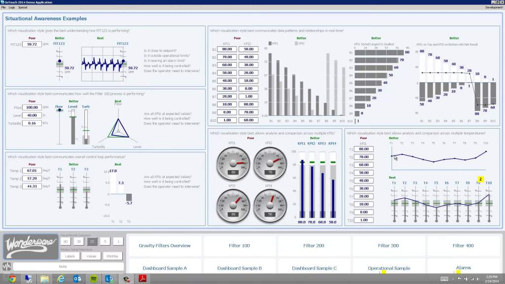 Process Control with Wonderware and Rockwell, including Recipe Management