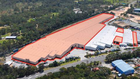 Australian Panel Products - Somersby Manufacturing and Logistics Facility
