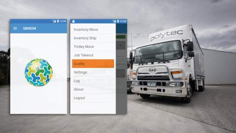 The power of Wonderware MES and Crossmuller Warehousing in a Mobile Application